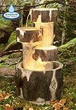 Holzklötze Kaskadenbrunnen mit Beleuchtung 74