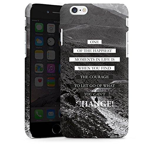 Apple iPhone 7 Hülle Case Handyhülle Sprüche Glücklich Statement Premium Case matt