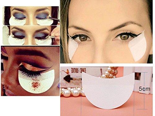 Shadow Shields Selbstklebende Lidschatten Shields Pads Abdeckungen für Augen Make Up Hilfe 20...