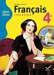Rives bleues livre unique de Français 4e éd. 2011 - Manuel de l'élève