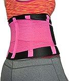 Sport Fitness Bauchweggürtel Abnehmen Schwitzgürtel für Männer und Frauen - 3
