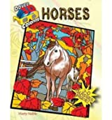 [(3-D Coloring Book--Horses )] [Author: Marty Noble] [May-2014]