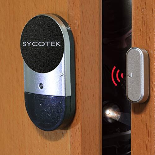 SYCOTEK Alarma Puertas y Ventanas, Sistema de Alarma con Sensor de Movimiento