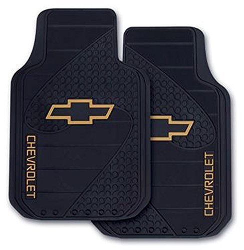 FLOOR MAT -- UNIVERSAL CHEVY BOW-TIE by