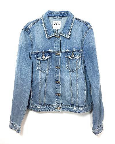 Zara Femme Veste en Jean 9374/009 (X-Large)