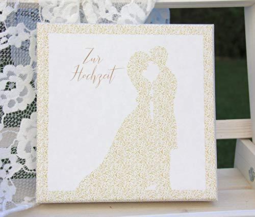 Geldgeschenk Hochzeit Brautpaar - Geld Verpackung für Hochzeitsreise