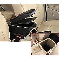 N//A Auto Armlehne Aufbewahrungsbox Mittelkonsole Leder Getr/änkehalter Auto Styling f/ür Hyundai Trajet Atos Elantra Getz H1 i20 Matrix