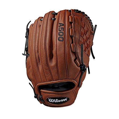 Wilson Sporting Goods 2019A500Baseball Handschuh-Links Hand, Überwurf Kupfer/blond, 30,5cm