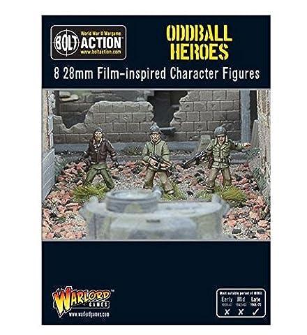 Bolt Action - World War II Oddball (Kelly's) Heroes (8) (28mm scale)