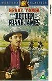 The Return of Frank James [VHS] [UK Import]