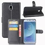 Cophone® Etui coque housse de protection noir en cuir pour Samsung galaxy...