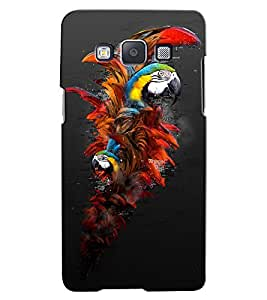 Citydreamz Parrot\Bird\Colorful\Jungle Hard Polycarbonate Designer Back Case Cover For Samsung Galaxy Grand Max G7202