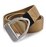 Best MODA & Store regali per gli amanti - Fairwin Cintura in Tela da Uomo, Stile Militare Review