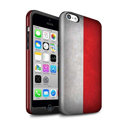 STUFF4 Glanz Harten Stoßfest Hülle / Case für Apple iPhone 7 / Russland/Russische Muster / Flagge Kollektion Poland/Polnische