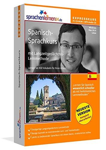 Sprachenlernen24.de Spanisch-Express-Sprachkurs PC CD-ROM für Windows/Linux/Mac OS X +...