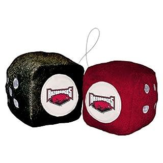 NCAA Arkansas Razorbacks Fußball Team Fuzzy Dice, Rot