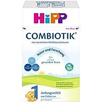 HiPP 1 Bio ComBiotik Bio, Anfangsmilch von Geburt an, 4er Pack (4 x 600 g)