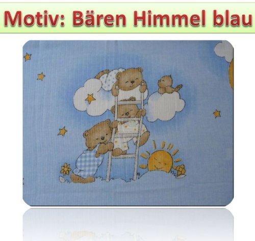 Langes Imprimé multicolore Lot de 5chiffons couches en tissu 70x 80coton neuf (Ours Bleu ciel)