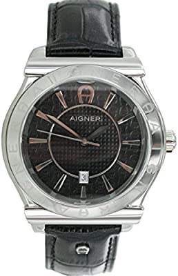 Aigner Reloj de cuarzo A24115 Negro 43 mm