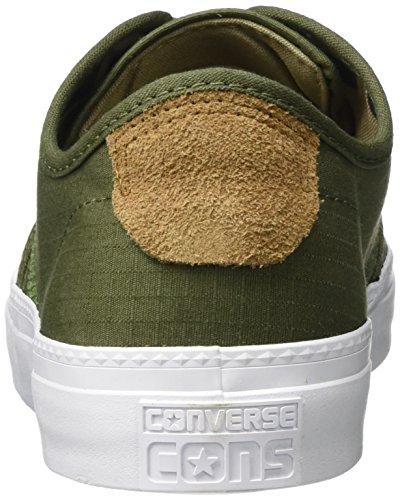 Converse Cons Zakim Ox Sneaker, Sneaker Unisex - Adulto Oliva