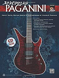Shredding Paganini: Heavy Metal Guitar Meets 9 Masterpieces by Niccolo Paganini, Book & CD (Shredding Styles) by German Schauss (2011-08-01)