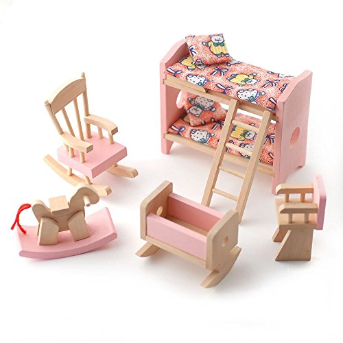 wooden-dolls-house-furniture-set-pink-childrens-bedroom
