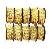 dealglad® Lot de 10rouleaux de 0–9Nombre Tube 6mm 2,5& # x33a1; élastique souple Câble Marqueurs Label