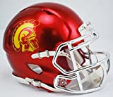 USC Trojans Alternate Chrome Riddell Speed Mini Helmet by Riddell