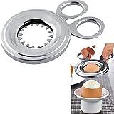 ASIV Egg Topper Cutter, Stainless Steel Cracker Tool for Boiled Egg , Kitchen Gadgets