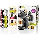 Nescafé Dolce Gusto Mini Me Coffee Machine Starter Kit, 1500 W, Black and Grey