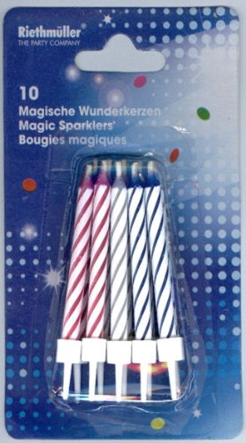 Magic Geburtstagskerzen