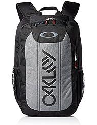 Oakley Enduro 20L - Mochila para portátiles y netbooks (Negro / Gris, Poliéster, Front pocket, Side pocket, Cremallera)