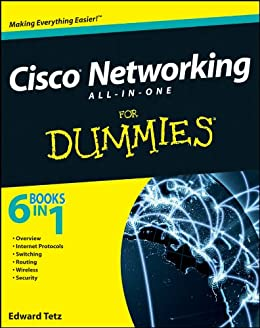Cisco Networking All-in-One For Dummies par [Tetz, Edward]