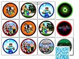 12 muffinsaufleger Minecraft