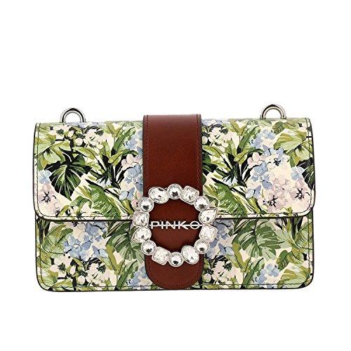 goditi il prezzo più basso catturare grandi affari sulla moda PINKO. BAG Mini Love Print Flowers 1P212LY4HQAS0 Nuova ...