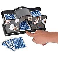 Noris 606154621 Accesorio para Juegos de Cartas Card shuffler Negro - Accesorios para Juegos de Cartas (Card shuffler, Negro, C, 1 Pieza(s))