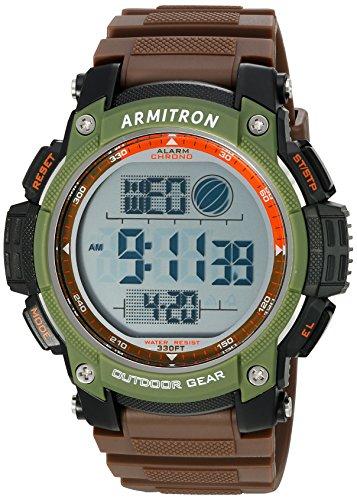 armitron-sport-mens-40-8252brn-green-accented-digital-chronograph-matte-brown-resin-strap-watch