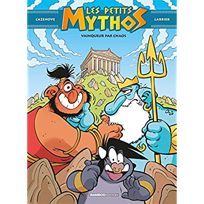 Les petits mythos - Tome 10 - Vainqueur par chaos - Exclusivité CRF
