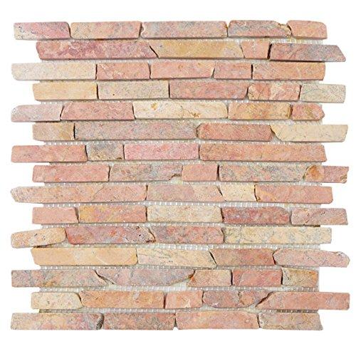 carrelage-vigo-t688-marbre-pierre-naturelle-mosaique-baguettes-11-pieces-a-30x30cm-1m-terre-cuite