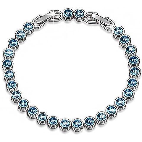 LADY COLOUR - Sogno dell'oceano - Bracciale donna con cristalli da Swarovski - la collezione