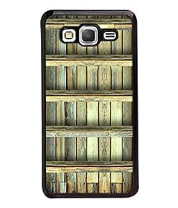 Fuson Designer Back Case Cover for Samsung Galaxy Grand Prime :: Samsung Galaxy Grand Prime Duos :: Samsung Galaxy Grand Prime G530F G530Fz G530Y G530H G530Fz/Ds (Wood Lakadi Antique Fashion Wood finish Dark Grey )