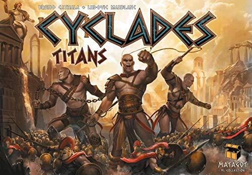 Matagot Cyclades Titans - Dutch, English, French, German, Spanish