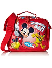 Disney Adventure Day Neceser de Viaje, 2.62 Litros, Color Rojo