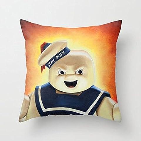 My Honey Kissen Stay Ghostbusters Marshmallow Man Überwurf Kissen von heatherackleyfor Ihr Zuhause