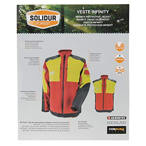 Soliduro pantaloni protezione classe 3 taglia XL