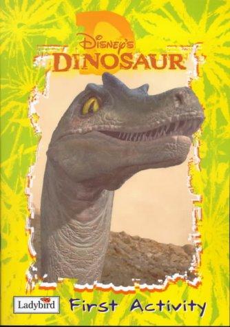 Disney's Dinosaur first activity book.