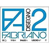 Fabriano 438249 Album da Disegno, 24 x 33 cm