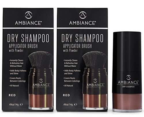 Ambiance Shampoing sec Rouge