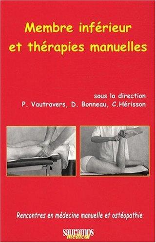Membre inférieur et thérapies manuelles