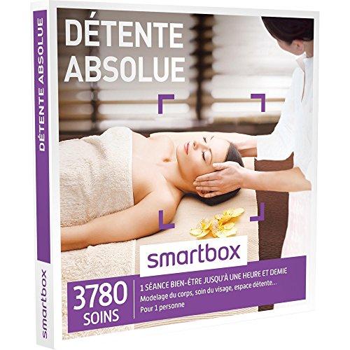 Smartbox - Coffret Cadeau - Dtente Absolue - 3780 Soins : Modelage Du Corps, Soin Du Visage, Accs Au Spa